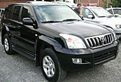 Аренда, заказ ????? Toyota Land Cruiser Prado 120 (?????? ???? ??????? ????? 120)