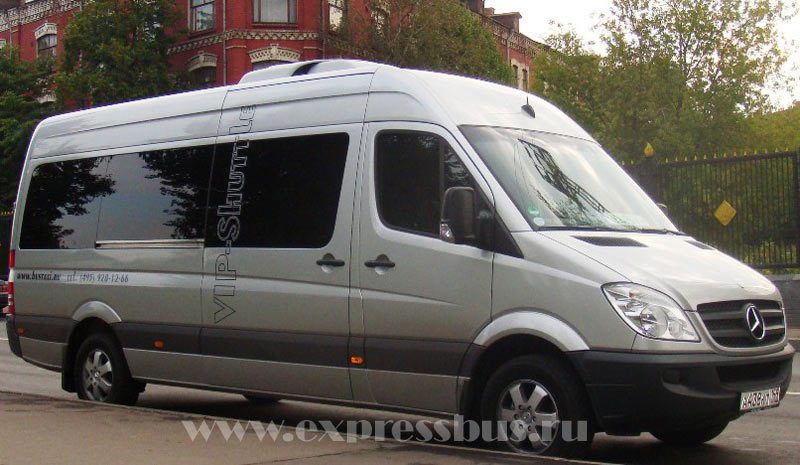 Аренда, заказ ????????????? Mercedes-Benz Sprinter VIP - 17 ???? (???????? ????????)