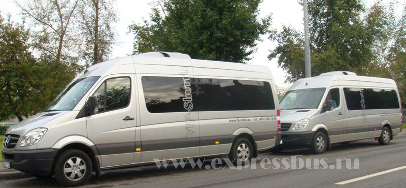 Аренда, заказ ????????????? Mercedes-Benz Sprinter VIP - 17 ???? (???????? ????????)